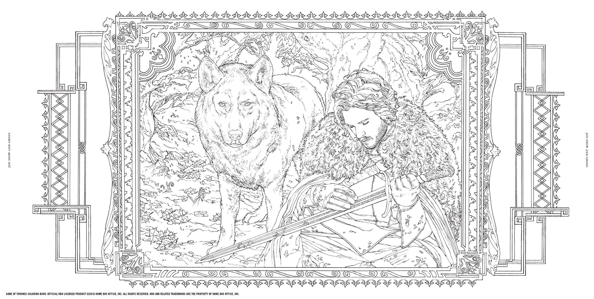 Game Of Thrones Coloring Book 1